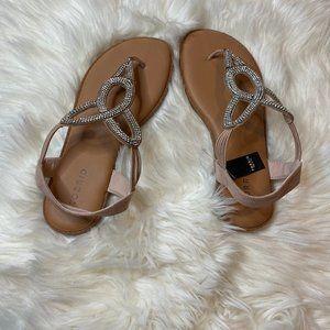 Torrid NWT Blush T-Strap Sandal 8.5W